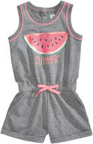 Epic Threads Summer Printed Romper, Little Girls, Created for Macy's