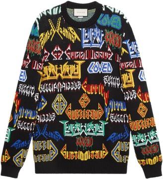 Gucci Metal Mix wool sweater