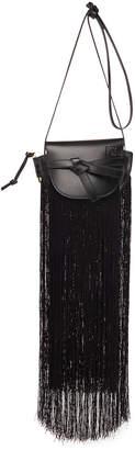 Loewe Gate Mini Fringe Crossbody Bag