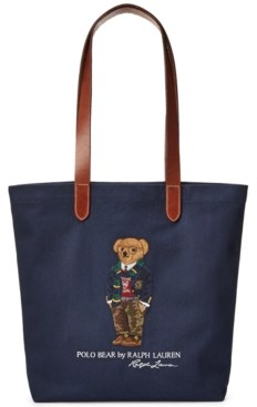 Polo Ralph Lauren Men's Polo Bear Twill Shopper Tote