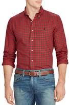 Polo Ralph Lauren Twill Plaid Classic Fit Button-Down Shirt