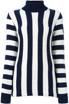 Rossignol striped roll neck jumper