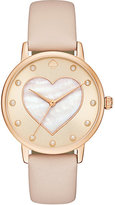 Kate Spade Vachetta heart metro watch