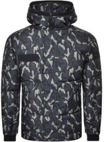 True Religion Camouflage Down Jacket Green