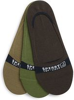 Sperry Signature Invisible Sock Liner 3-Pack