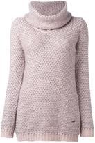 Fay roll neck jumper