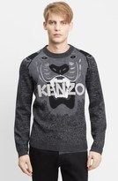 Kenzo 'Icon' Intarsia Tiger Wool Sweater