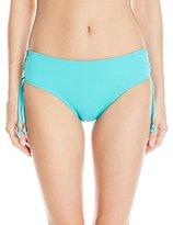 Kensie Women's Side-Tie Adjustable Bikini Bottom