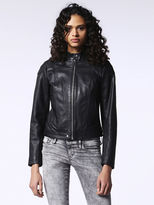 Diesel DieselTM Leather jackets 0EAMW - Black - M