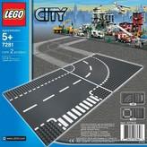Lego City T-junction & Curve 7281