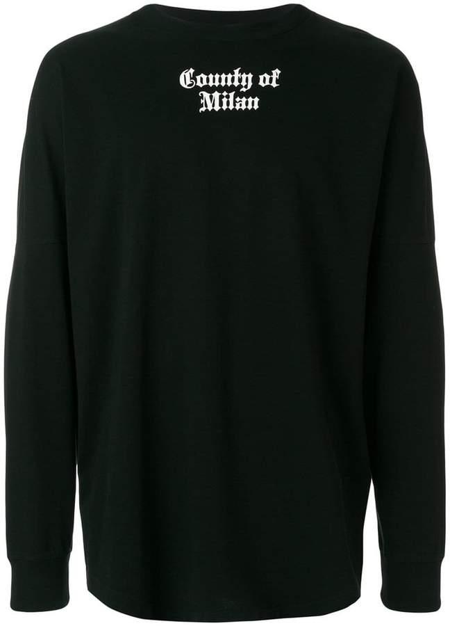 Marcelo Burlon County of Milan Flags sweatshirt
