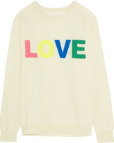 Chinti and Parker Love Intarsia Cashmere Sweater - Cream