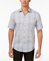 Alfani Ombrandeacute; Plaid Shirt