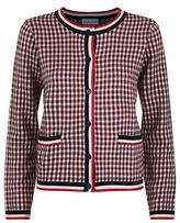 Claudie Pierlot Maxime Check Cardigan