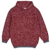Burton Mens **Boys Red Shawl Collar Jumper (18 months - 6 years)
