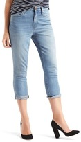 Gap AUTHENTIC 1969 best girlfriend super high rise crop jeans