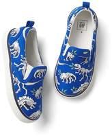 Gap Dino fossils slip-on sneakers