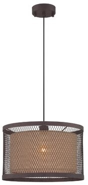 Corrigan Studio Arabella 1-Light Single Drum Pendant