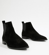 Asos DESIGN Atom suede chelsea boots