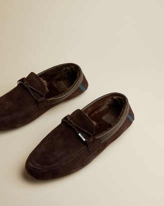Ted Baker Suede Slippers