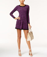 MICHAEL Michael Kors Printed Fit & Flare Dress, Created for Macy's