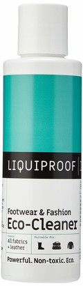 Liquiproof LABS Footwear & Fashion Eco Cleaner 125ml - a concentrated eco-friendly cleaner. Cleans conditions and removes stains from all types of fabrics and textiles. 100% natural ingredients