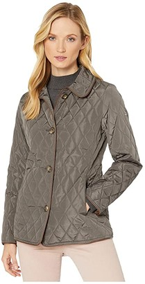 Lauren Ralph Lauren Quilted Blazer (Flannel) Women's Coat