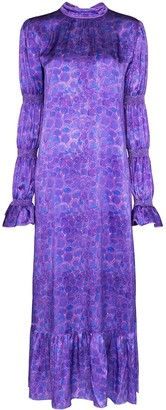 Helmstedt Grapes Printed Maxi Dress
