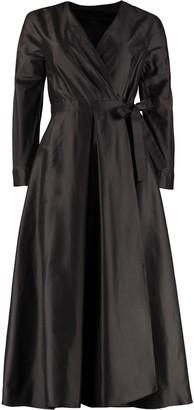 Max Mara Silk Shantung Dress