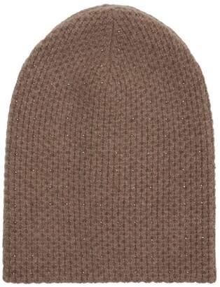 William Sharp Cashmere Crystal Embellished Hat