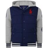 Ralph Lauren Ralph LaurenBoys Navy & Grey Varsity Jacket