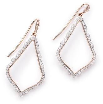 Kendra Scott Sophia Pave Diamond Drop Earrings