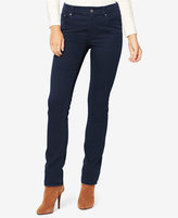 Lauren Ralph Lauren Petite Stretch Premier Straight-Leg Jeans, Rinse Wash