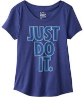 """Nike Girls 7-16 Just Do It"""" Graphic Tee"""