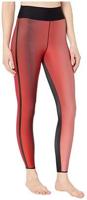 ULTRACOR Stratus Ultra High Leggings (Midnight Print/Patent Nero) Women's Casual Pants