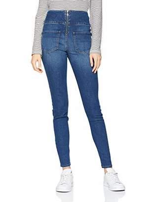 Pieces Women's Pchighwaist Skinny Jegging Mb203-cy Jeans, (Medium Blue Denim)