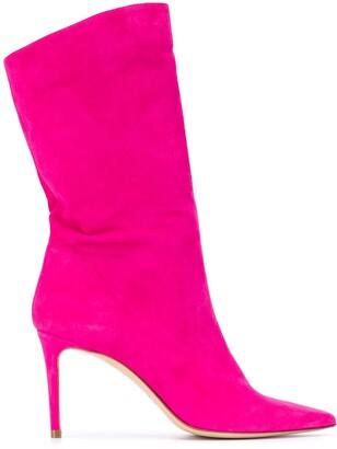 Giuliano Galiano Helena 85mm mid-calf boots