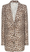 Stella McCartney Wool-blend Jacquard Coat