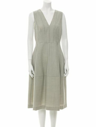 Narciso Rodriguez 2019 Midi Length Dress w/ Tags Wool