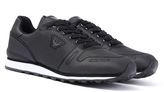 Armani Jeans Black & White Lightweight Trainers