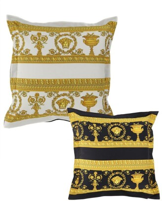 Versace Reversible Medusa Cushion (50Cm X 50Cm)