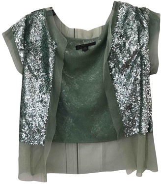 Country Road Green Glitter Jacket for Women