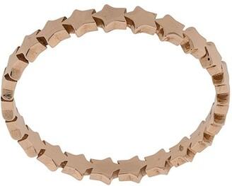 Kismet by Milka 14kt rose gold Mini Full Star pinky ring