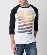 Bowery Apparel Stars & Stripes Girl T-Shirt