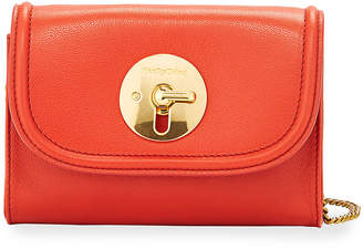 See by Chloe Lois Turn-Lock Leather Crossbody Bag