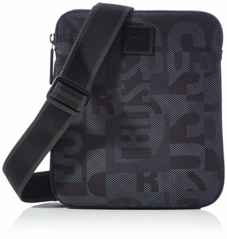 HUGO BOSS Men's Pixcam214_S Zip env Satchel Bag
