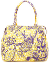 Vivienne Westwood Violet Yellow Shoulder Bag