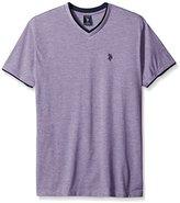 U.S. Polo Assn. Men's Short Sleeve Solid Classic Fit V-Neck T-Shirt