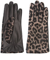 Perrin Paris leopard gloves - women - Leather - 7.5