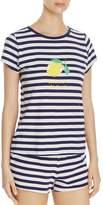 Kate Spade Lemon Stripe Short Pj Set